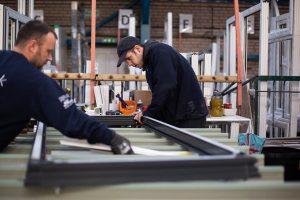 Stedek factory workers